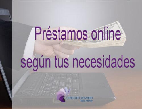 Los préstamos online y sus diferencias